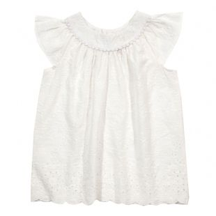Kite Broderie Blouse white 4 years